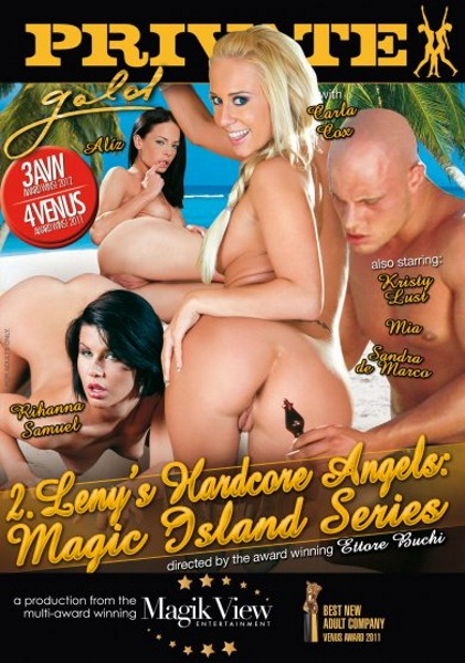 Private Gold 132 - Lenys Hardcore Angels. Magic Island Series [2012] DVDRip