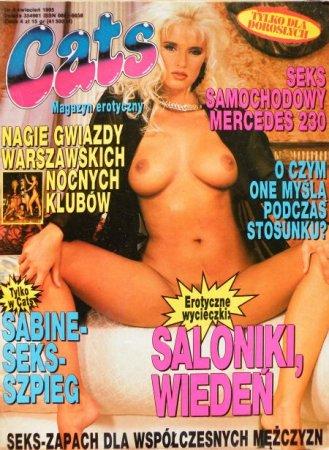 CATS magazyn erotyczny № 4 (1995)