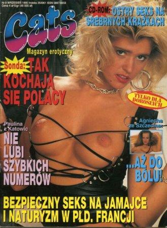 CATS magazyn erotyczny № 9 (1995)