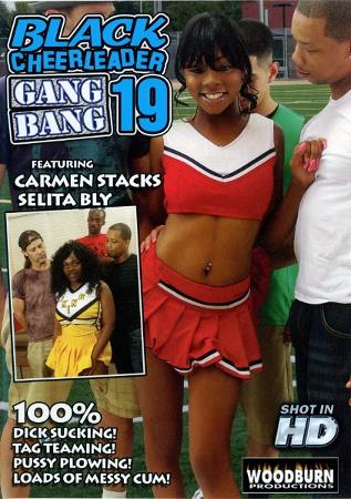Групповой трах чёрных болельщиц 19 / Black Cheerleader Gangbang 19 (2012/WEB-DL)
