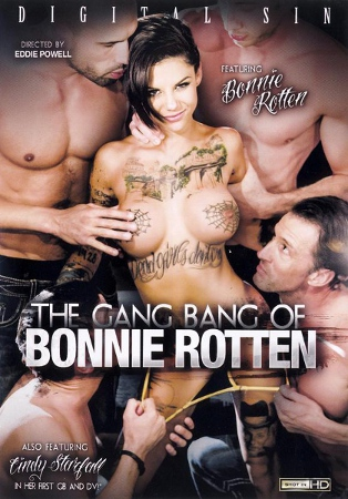 ���������� � ����� ������ / The Gang Bang Of Bonnie Rotten (2013/WEB-DL)