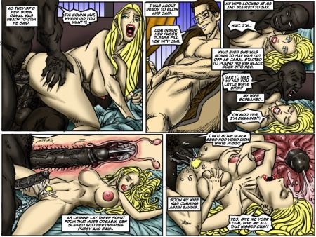Comics art IllustratedInterracial 3