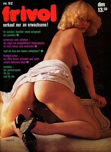 FRIVOL MAGAZINE № 92