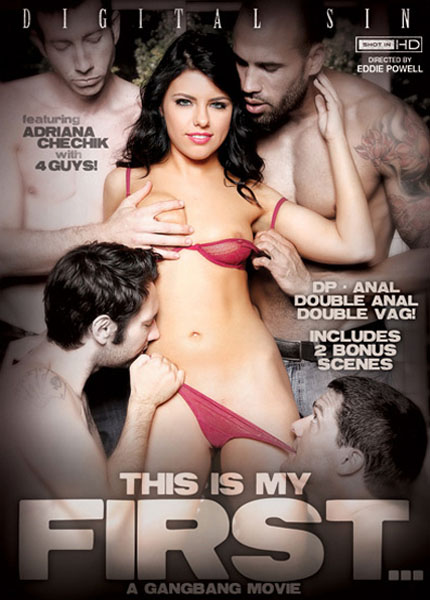 This Is My First... A Gangbang Movie (2013WEBRipSD)