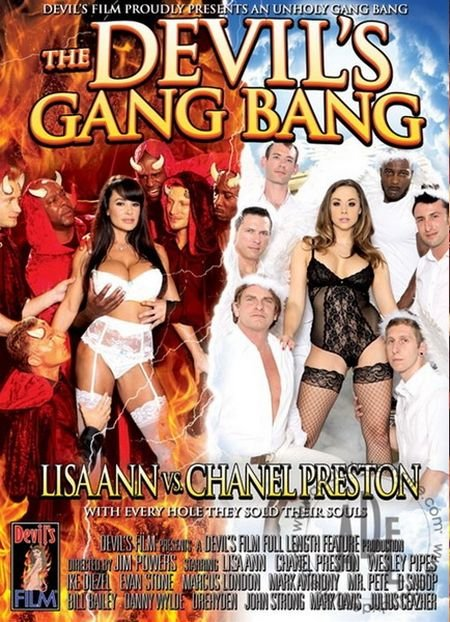 The Devils Gang Bang: Lisa Ann VS Chanel Preston (2013/WEBRip/HD)