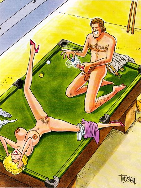 Comics porno - Hustler cartoons 90
