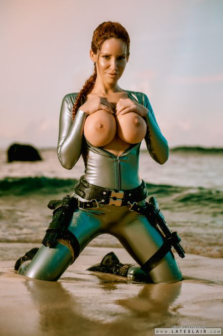 Lara Croft - pornomodel. Part 2