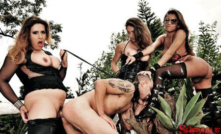 Трансики поймали мужика [2014]