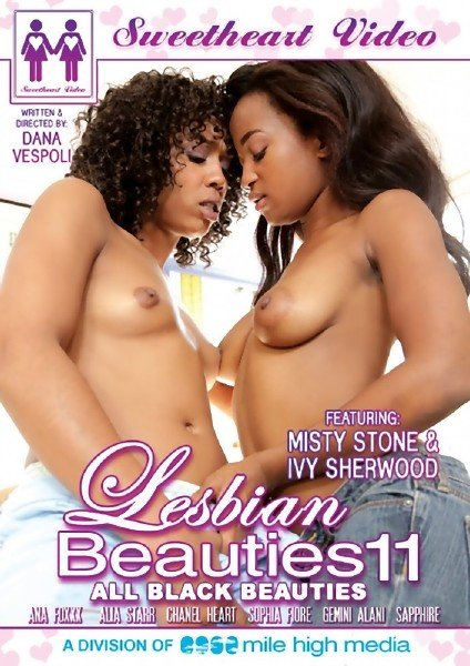 Lesbian Beauties 11 - All Black (2014/WEBRip/SD)