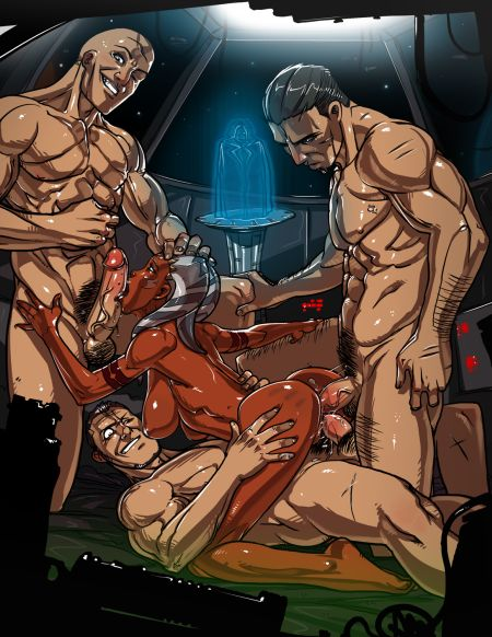 Comics art Ganassa. Part 1