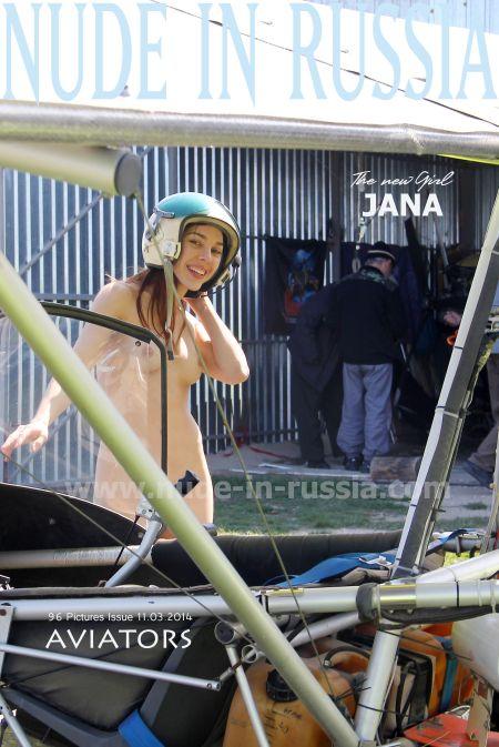 Nude In Russia - Jana A - aviators
