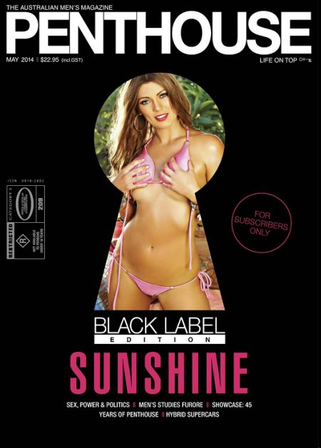Penthouse Black Label Edition (May 2014)  Australia