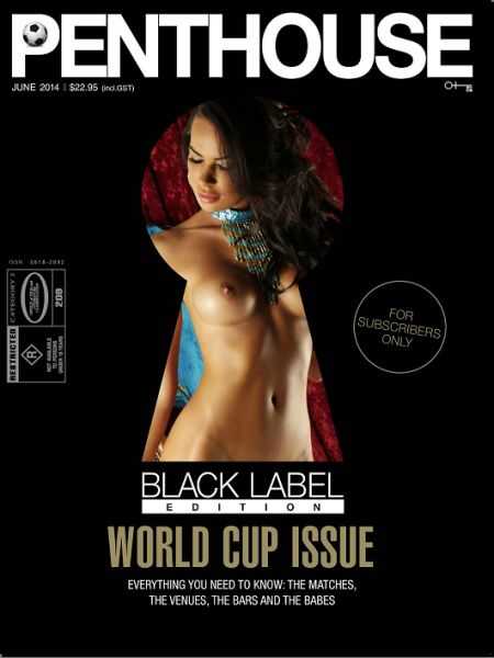 Penthouse Black Label Edition № 6 (june 2014)  Australia