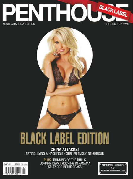 Penthouse Black Label Edition № 7 (july 2014)  Australia