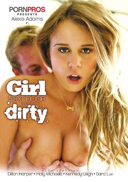 Girl Next Door Likes It Dirty (2014/DVDRip)