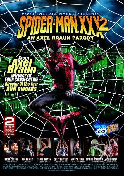 Spider-Man XXX 2: An Axel Braun Parody [2014]