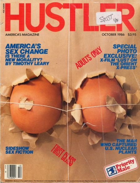 Hustler № 10 (october 1986)