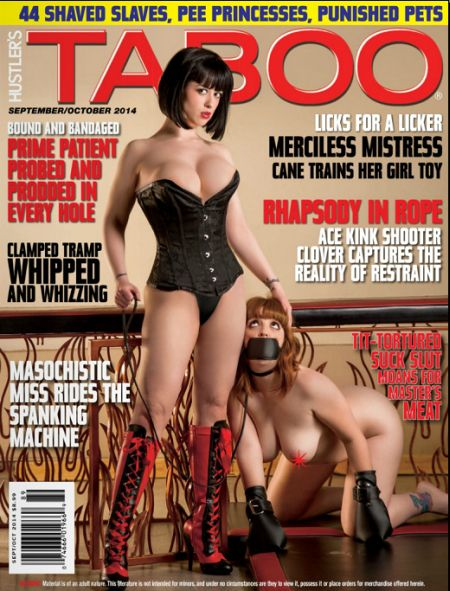 Hustler's Taboo № 9-10 [Septmber-October 2014]