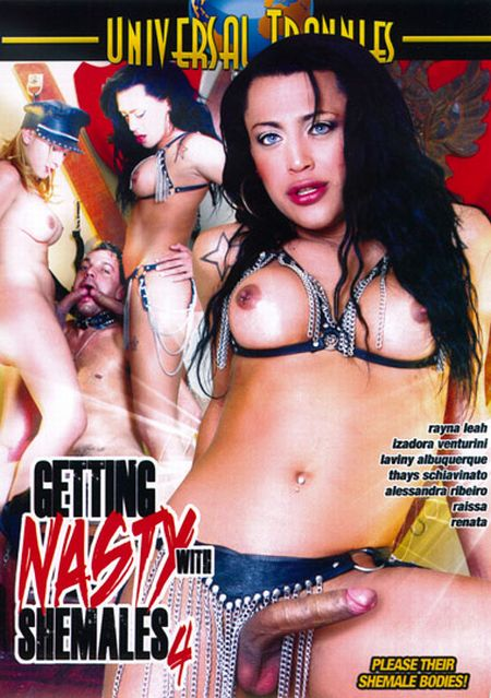 Getting Nasty With Shemales 4 [2011] DVDRip