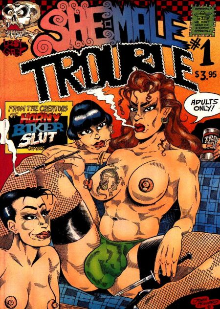 She-Male Trouble 1 - 2