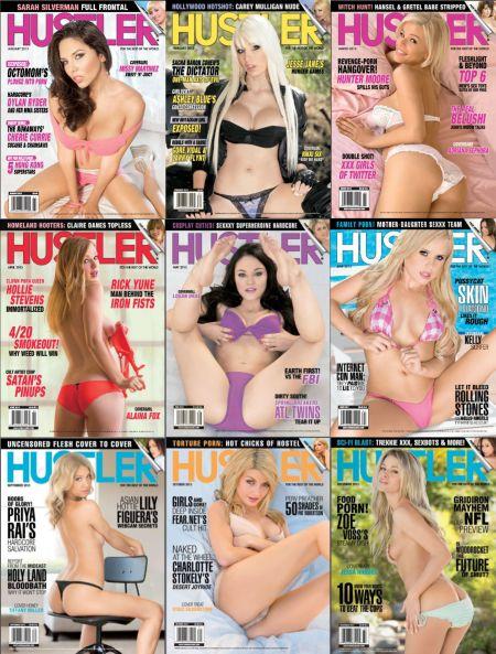Hustler № 1-12 (January - December 2013)