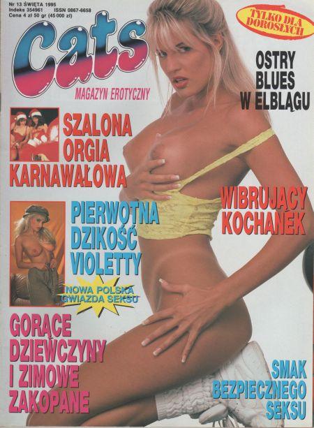 CATS magazyn erotyczny № 13 (1995)