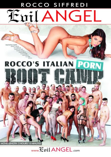 Rocco's Italian Porn Boot Camp / Учебный Итальянский Порно Лагерь Рокко [2015] DVDRip