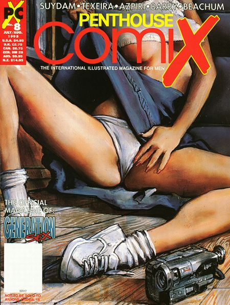 PENTHOUSE COMIX № 08