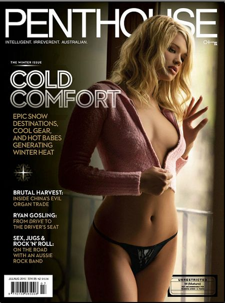 Penthouse № 7-8 (July-August 2015) Australia