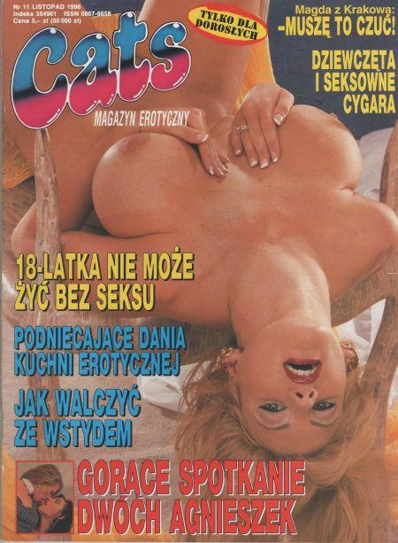 CATS magazyn erotyczny № 11 (1996)