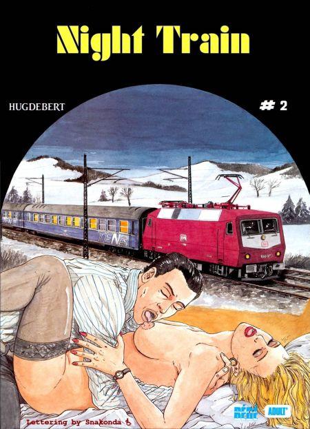 Hugdebert comix  - Night Train 2