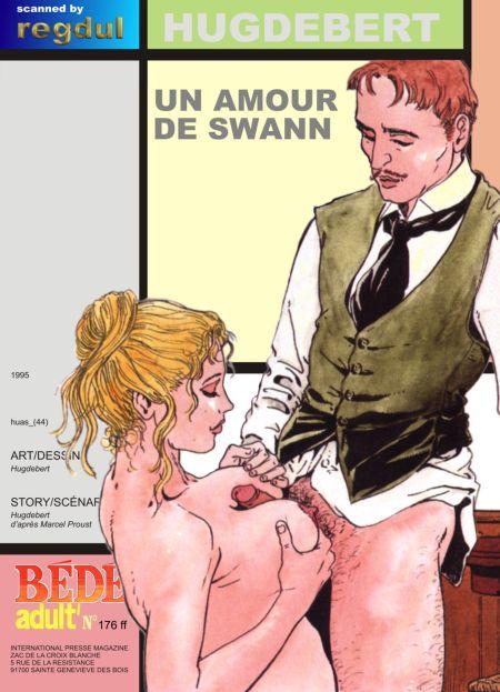 Hugdebert comix - Un amour de Swann