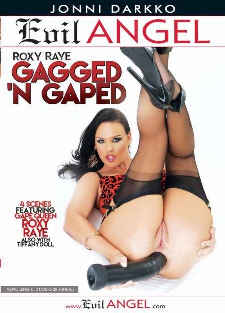 Roxy Raye Gagged 'N Gaped / Roxy Raye Кляп В Рот И Затычка В Жопу [2015]