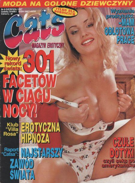 CATS magazyn erotyczny № 8 (1997)