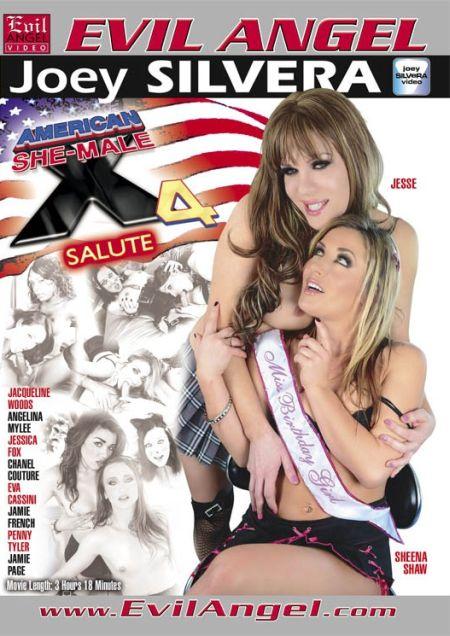 American She-Male X 4 / Американские Транссексуалы  4 [2013]