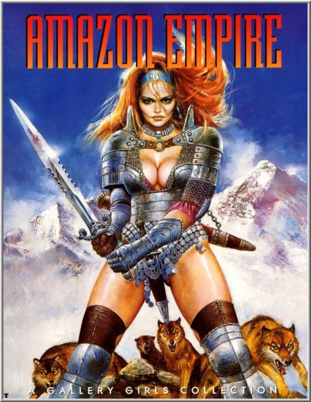 Comics art - Amazon Empire / Амазонки Империи