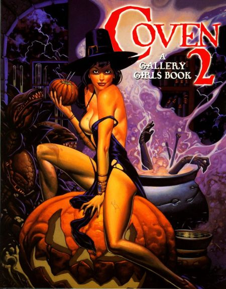 Comics art - Coven 2 / Шабаш Ведьм 2