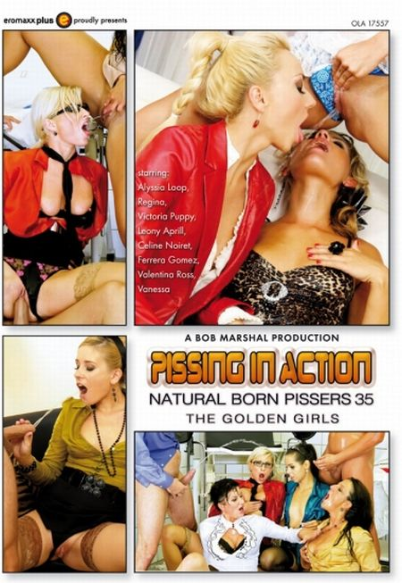 Pissing In Action - Natural Born Pissers 35 / Писсинг в действии - Прирождённые Зассыхи 35 [2015]