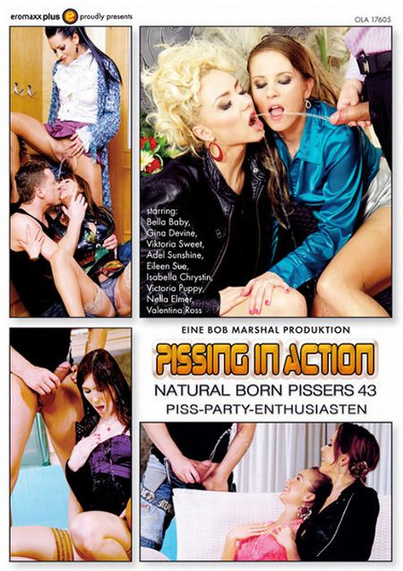 Pissing In Action - Natural Born Pissers 43 / Писсинг в действии - Прирождённые Зассыхи 43 [2015]