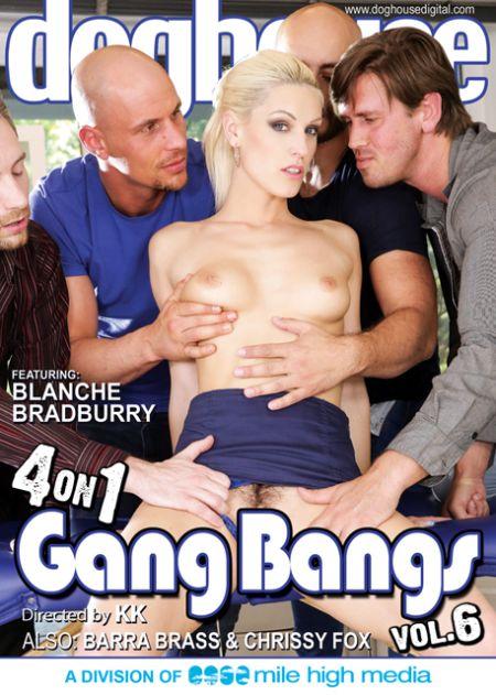 4 On 1 Gang Bangs 6 / Четверо - одну Ганг Банг 6 [2015]
