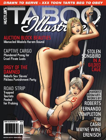Hustler's Taboo Illustrated № 13
