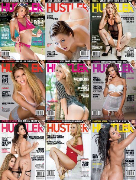 Hustler № 1-12 (January - December 2015)