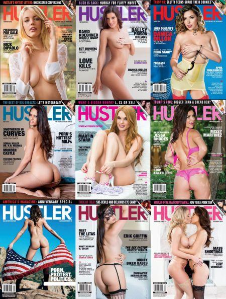 Hustler № 1-12 (January - December 2016)