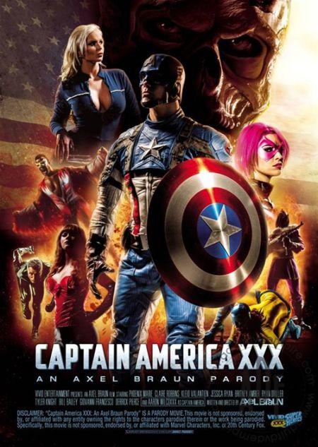 Captain America XXX: A Porn Parody / Капитан Америка XXX: Порно Пародия [2014]