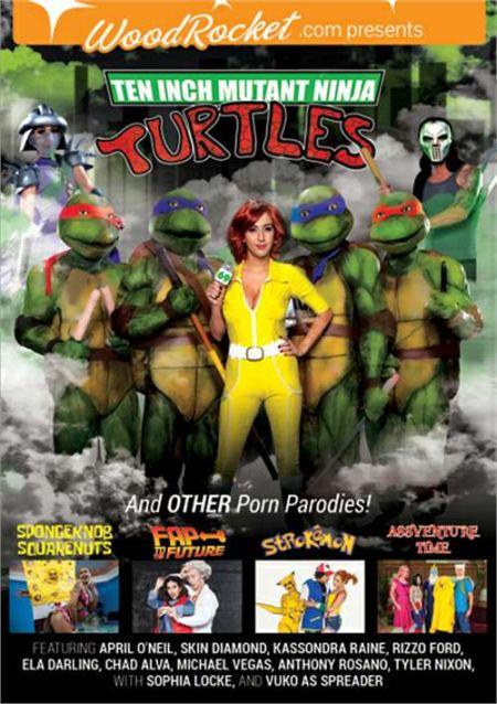 Ten Inch Mutant Ninja Turtles and Other Porn Parodies / Озабоченные Мутанты Ниндзя Черепахи и Другие Пародии [2016]