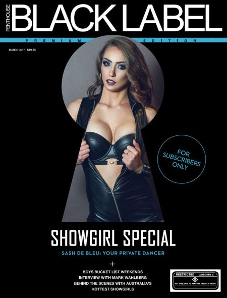 Penthouse Black Label № 3 (march 2017) Australia