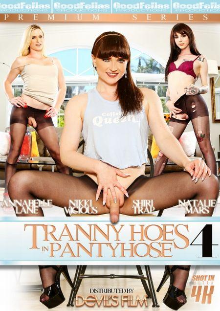 Tranny Hoes in Pantyhose #4 / Транссексуальные Шлюхи В Колготках #4 [2017]