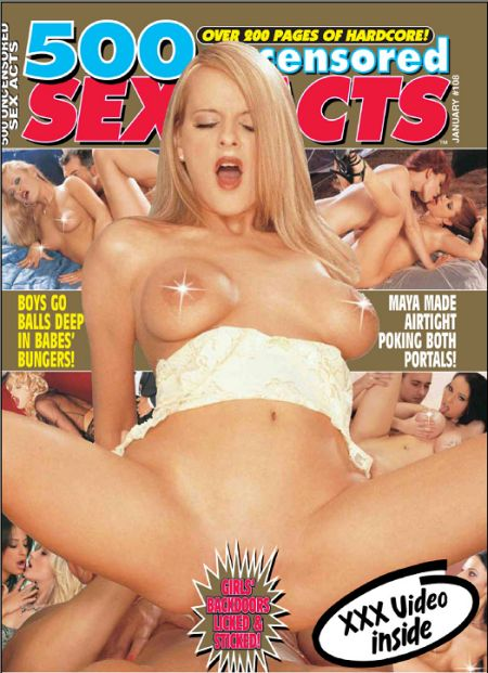 500 Uncensored Sex Acts - 2008 - 01