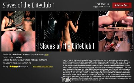 Slaves of the EliteClub 1 [2017]