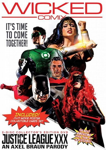 Justice League XXX - An Axel Braun Parody / Лига справедливости XXX - Пародия Акселя Брауна (2017)